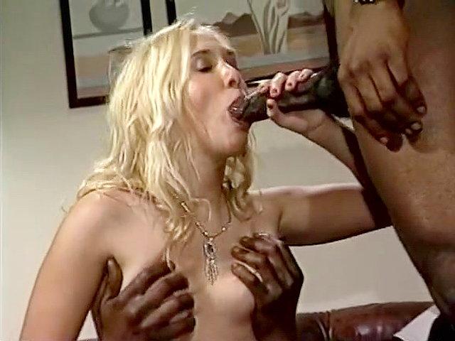 1900s Black Porn Stars - Cute girl gets facial from black classic porn star - , , ,